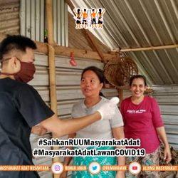 Pemuda Adat Lombok Barat Bergerak Lawan COVID-19