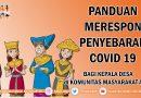 Panduan Merespon Penyebaran COVID-19 bagi Kepala Desa di Komunitas Masyarakat Adat