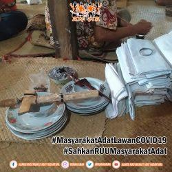Tolak Bala di Komunitas Adat Talang Perigi untuk Lawan Penyebaran COVID19