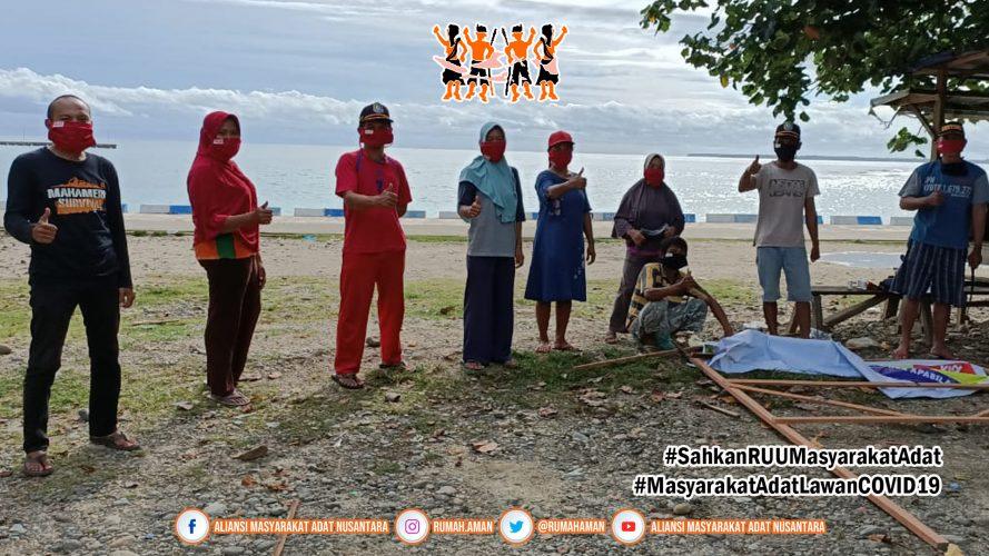 Gugus Tugas AMANkanCOVID19 Bengkulu Galakkan Sosialisasi dan Pembagian Masker Gratis