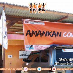 Flyer Informasi Gugus Tugas AMANkanCOVID19 Bengkulu