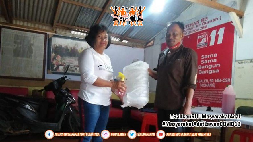 Gugus Tugas AMANkanCOVID19 Sumatra Utara Distribusikan Tempat Cuci Tangan
