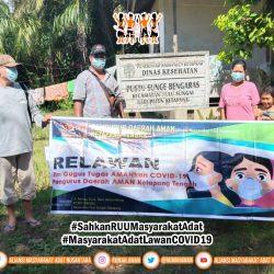 Gugus Tugas AMANkanCOVID19 Daerah Ketapang Salurkan APD