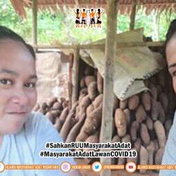 Pengecekan Cadangan Pangan Komunitas oleh Gugus Tugas AMANkanCOVID19 Banggai Kepulauan