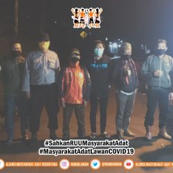 Gugus Tugas AMANkanCOVID Daerah Banten Kidul Lakukan Patroli dan Edukasi