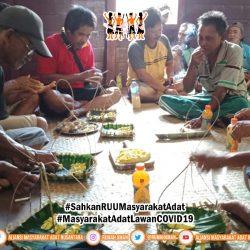 Cegah COVID-19, Komunitas adat Sekayu Darat Lakukan Ritual Tolak Bala