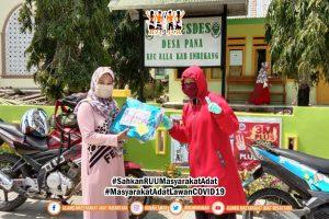 Gugus Tugas AMANkanCOVID19 Daerah Massenrempulu Salurkan Bantuan