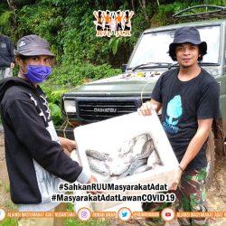 Gugus Tugas AMANkanCOVID19 Daerah Gowa Galang dan Salurkan Bantuan Pangan