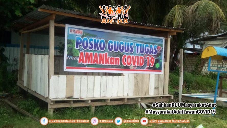 Cegah Penyebaran COVID-19 di Papua, Komunitas Adat Enggros Tutup Akses Keluar-Masuk Wilayah Adat