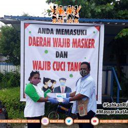 Gugus Tugas AMANkanCOVID19 Papua Salurkan Masker