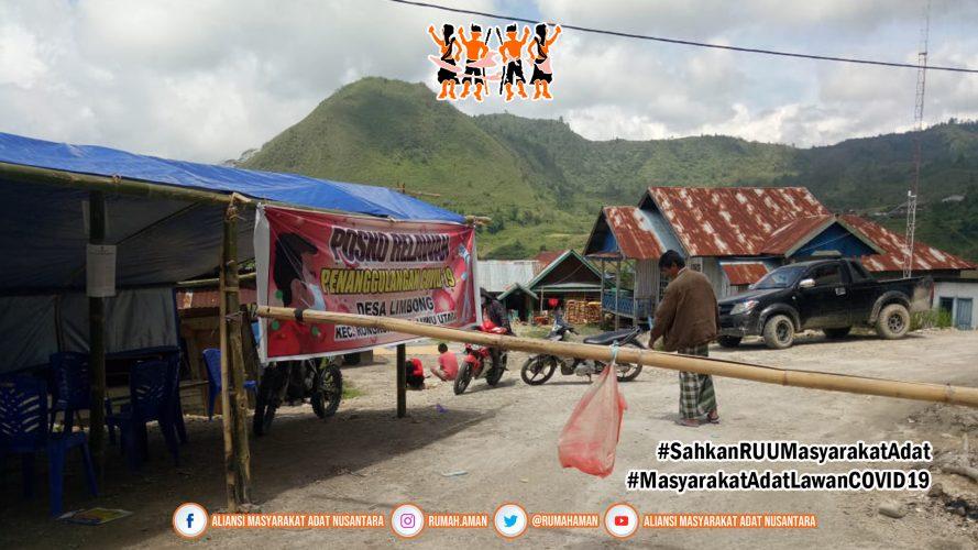 Komunitas Adat Limbong, Rongkong, Tana Luwu, Cegah COVID-19 Dengan Karantina Wilayah Adat