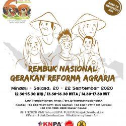 Rembuk Nasional Gerakan Reforma Agraria: Perubahan Kawasan Hutan dan Industri  Akibatkan Krisis Sosial dan Lingkungan