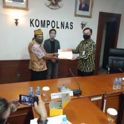 Selain ke Komnas HAM, Effendi Buhing juga melaporkan kasusnya ke Propam Mabes Polri dan Kompolnas RI