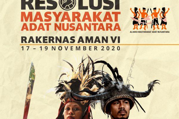 Resolusi Masyarakat Adat Nusantara