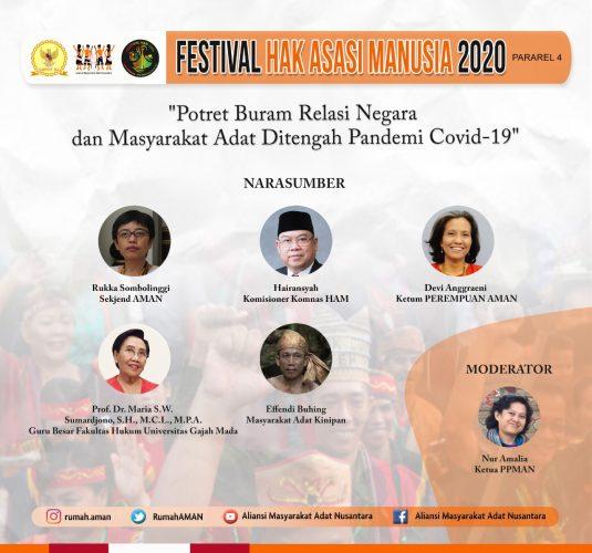 Festival HAM 2020: Potret Buram, Tahun Paling Suram Bagi Masyarakat Adat