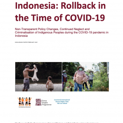 Indonesia: Rollback in the Time of COVID-19